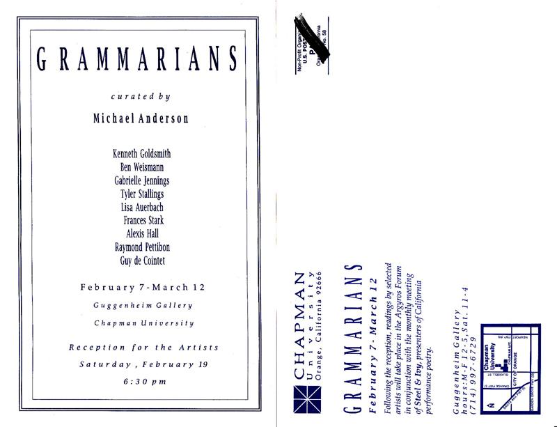 RGammarians