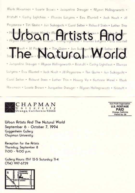 RUrbanArtists&TheNaturalWorld1994