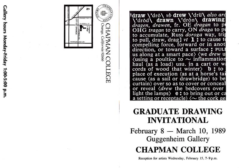 RGraduateDrawingInvitational1989