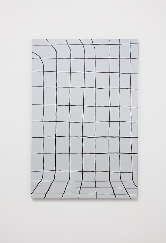 Gina Osterloh - Grid #5, 2014, Archival Pigment Photograph with UV Laminate mounted on Colored Acrylic Panel, 45 3/4 x 30 in