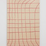 Gina Osterloh- Grid #3, 2014, Archival pigment photograph with UV laminate mounted on colored acrylic panel, 45 3/4 x 30 in