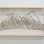 Nancy Youdelman - Pin Bra #2, 2010, Mixed Media 17.5 x 32.5 x 3.75 in