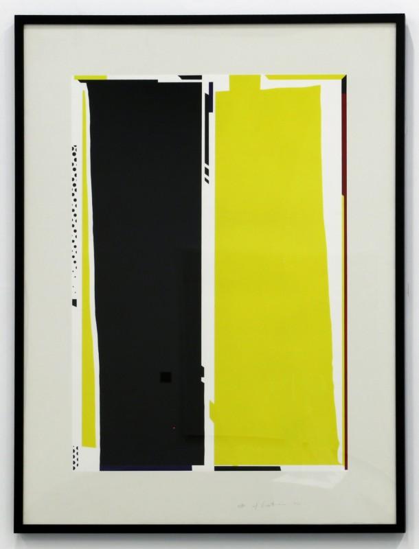 Roy Lichtenstein - Mirror #5, 1972,  Lithograph on Paper, Gift of the Seinmetz Family