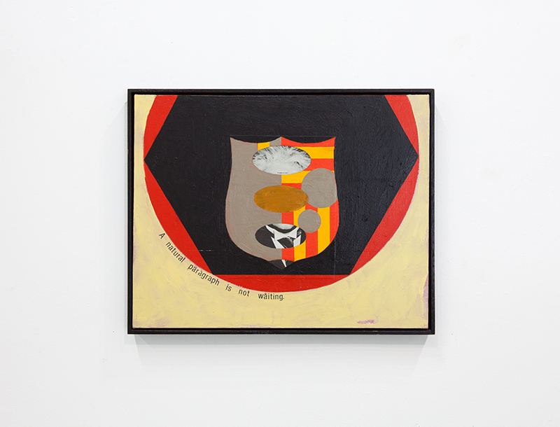 Nate Fors - Einstein Empirification, 1990, Mixed media collage on canvas, Gift of Taco Bell