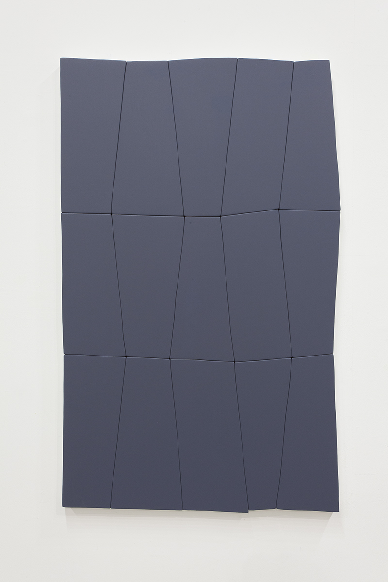 "Daniel Mendel-Black - Dark Fugue, 2016, Acrylic on canvas over wood panel, 60"" x 40"""