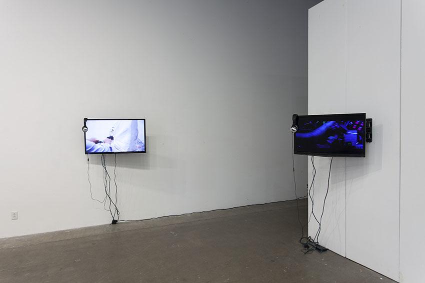 Mona Varichon - Glassworks, 2015, 4'47'', HD video, color, sound. Out of the Blueness, 2016, 6'57'', HD video, color, sound.